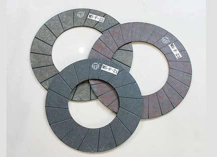 高速冲床离合器摩擦片一般使用什么材料
