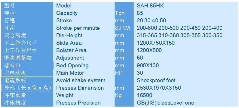 85吨龙门冲床口罩鼻梁条冲压设备厂家